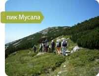 Экскурсия на пик Мусала, треккинг в горах