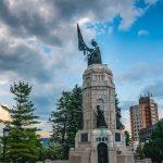 Памятник Мать Болгария Тырново 2